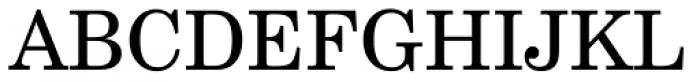 Century Schoolbook WGL4 Roman Font UPPERCASE