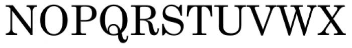Century Schoolbook Font UPPERCASE