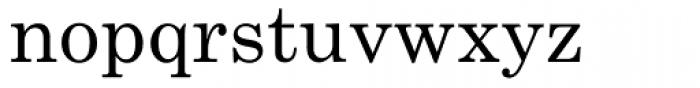 Century Schoolbook Font LOWERCASE