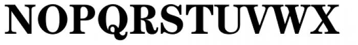 Century Std Bold Font UPPERCASE