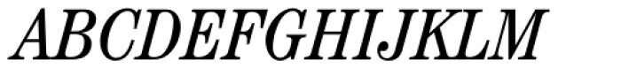 Century Std Cond Book Italic Font UPPERCASE