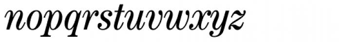 Century Std Cond Book Italic Font LOWERCASE