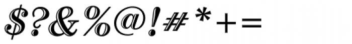 Century Std Handtooled Bold Italic Font OTHER CHARS