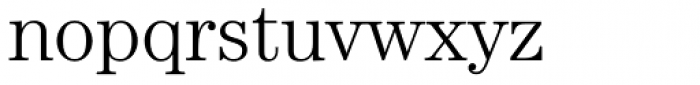 Century Std Light Font LOWERCASE