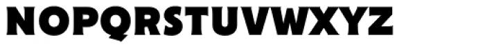 Cenzo Flare Black Font LOWERCASE