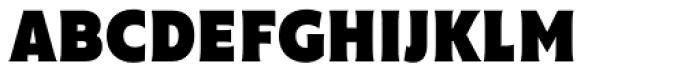 Cenzo Flare Condensed Black Font UPPERCASE
