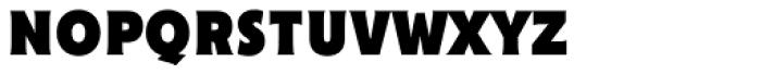 Cenzo Flare Condensed Black Font LOWERCASE