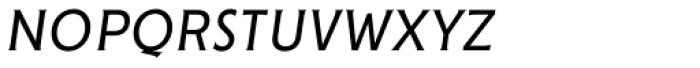 Cenzo Flare Condensed Light Italic Font LOWERCASE