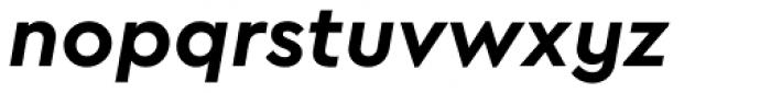 Cera Bold Italic Font LOWERCASE