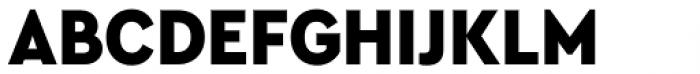 Cera Compact Pro Black Font UPPERCASE