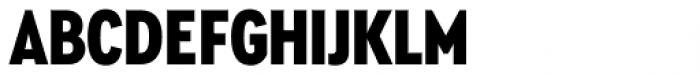 Cera Condensed Pro Black Font UPPERCASE