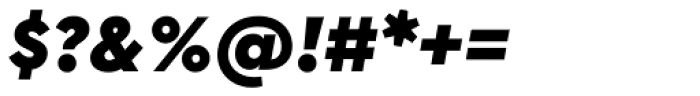 Cera PRO Black Italic Font OTHER CHARS
