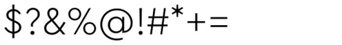 Cera PRO Light Font OTHER CHARS