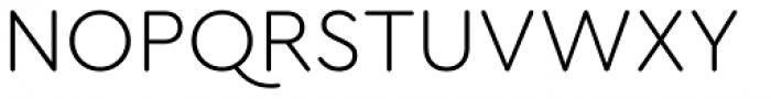 Cera Round Pro Light Font UPPERCASE