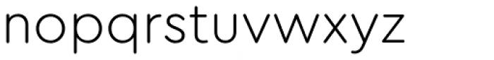 Cera Round Pro Light Font LOWERCASE