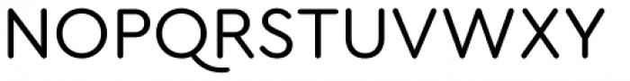 Cera Round Pro Regular Font UPPERCASE