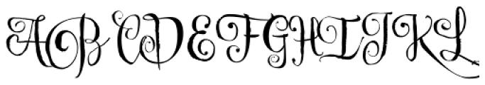 Cereal Script Font UPPERCASE