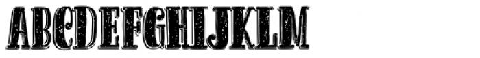 Cereal Skin Font UPPERCASE