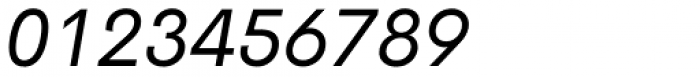 Cerebri Sans Italic Font OTHER CHARS