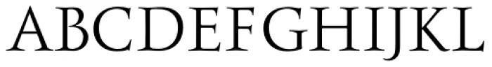 Ceres Regular Font UPPERCASE