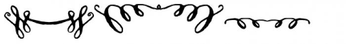 Cerise Swash Font OTHER CHARS