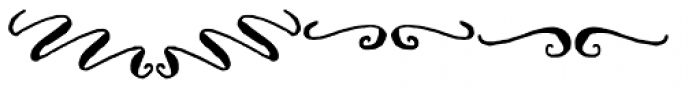 Cerise Swash Font UPPERCASE