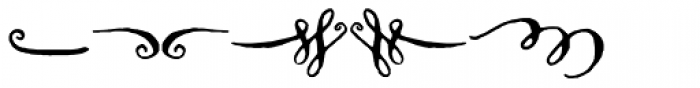 Cerise Swash Font LOWERCASE