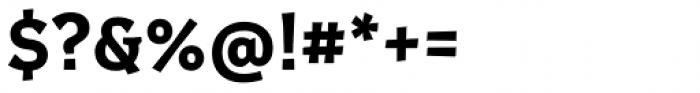 Certa Serif Bold Font OTHER CHARS