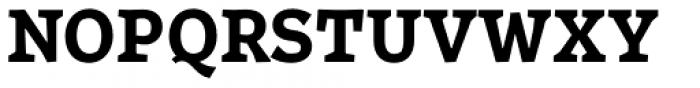 Certa Serif Bold Font UPPERCASE