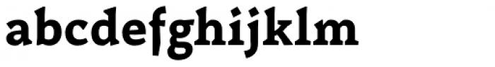 Certa Serif Bold Font LOWERCASE