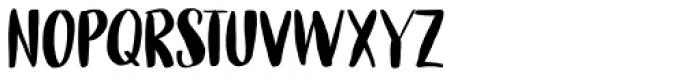 Cerulean Blue Regular Font UPPERCASE