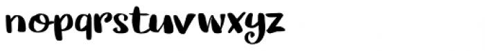Cerulean Blue Regular Font LOWERCASE