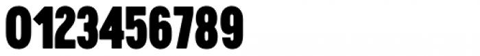 Cervino Black Condensed Font OTHER CHARS