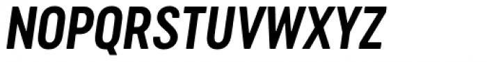 Cervino Bold Neue Italic Font UPPERCASE