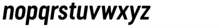 Cervino Bold Neue Italic Font LOWERCASE