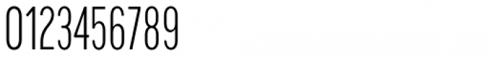 Cervino Light Condensed Font OTHER CHARS