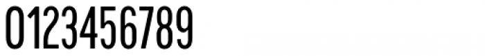 Cervino Medium Condensed Font OTHER CHARS
