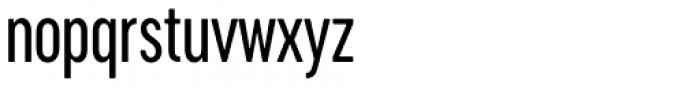 Cervino Medium Condensed Font LOWERCASE
