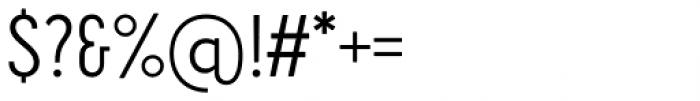 Cervino Regular Neue Font OTHER CHARS