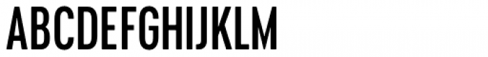 Cervino Semi Bold Condensed Font UPPERCASE