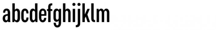 Cervino Semi Bold Condensed Font LOWERCASE