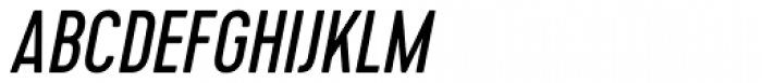 Cervo Italic Font UPPERCASE