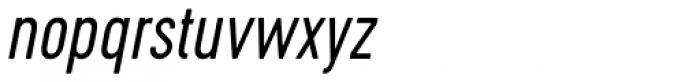 Cervo Light Italic Font LOWERCASE