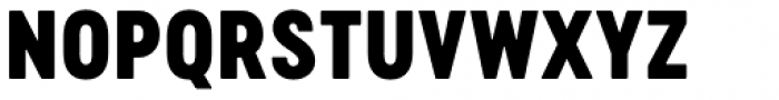 Cervo Neue Black Font UPPERCASE