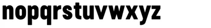 Cervo Neue Black Font LOWERCASE
