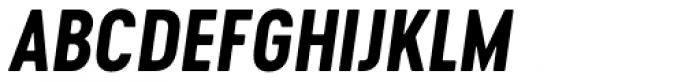 Cervo Neue Bold Italic Font UPPERCASE