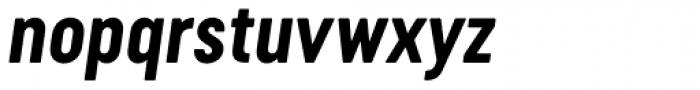 Cervo Neue Bold Italic Font LOWERCASE