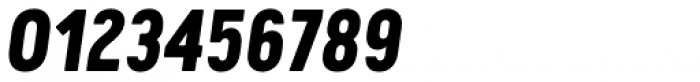 Cervo Neue Extra Bold Italic Font OTHER CHARS