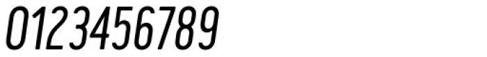 Cervo Neue Light Italic Font OTHER CHARS