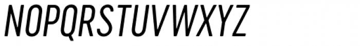 Cervo Neue Light Italic Font UPPERCASE